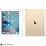 """iPad Pro Gold com 12,9"""", Wi-Fi, iOS, Processador A9X e 32 GB"""