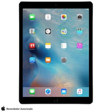 """iPad Pro Space Gray com 12,9"""", Wi-Fi, iOS 9, Processador A9X e 128 GB, Cinza, 0000012.90, 000128, 1, N, APPLE, 003412, A9X, iOS, 0000012.90, Sim, 8.0 MP, 128 GB, Wi-Fi, 12 meses, Sim, Sim, A9X, Não, iOS, Acima de 10'', 12.9"""