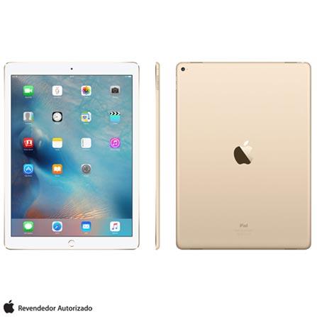 """iPad Pro Gold com 12,9"""", Wi-Fi, iOS, Processador A9X e 128 GB, Dourado, 0000012.90, 000128, 1, N, APPLE, 003412, A9X, iOS, 0000012.90, Sim, 8.0 MP, 128 GB, Wi-Fi, 12 meses, Sim, Sim, A9X, Não, iOS, Acima de 10'', 12.9"""