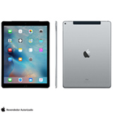 "iPad Pro Space Gray com 12,9"", 4G, iOS, Processador A9X e 128 GB"