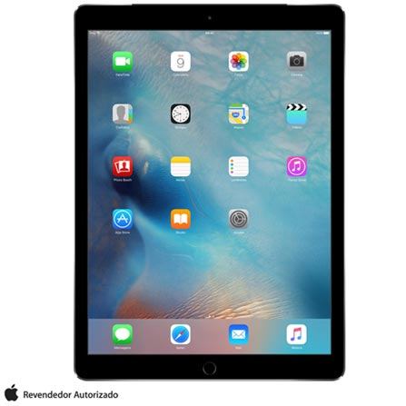 , Cinza, 0000012.90, 000128, 1, N, APPLE, 003412, A9X, iOS, 0000012.90, I, Nano Chip, 8.0 MP, 128 GB, Wi-Fi + 4G, 12 meses, Acima de 10''