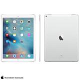 """iPad Pro Silver com 12,9"""", 4G, iOS, Processador A9X e 128 GB"""
