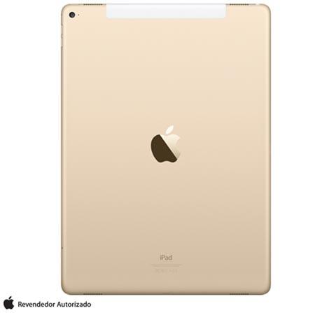 """iPad Pro Gold com 12,9"""", 4G, iOS, Processador A9X e 128 GB, Dourado, 0000012.90, 000128, 1, N, APPLE, 003412, A9X, iOS, 0000012.90, I, Nano Chip, 8.0 MP, 128 GB, Wi-Fi + 4G, 12 meses, Acima de 10''"""