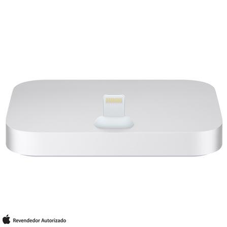Dock Station Apple para iPhone e iPod Prateado - ML8J2BZA, Prata