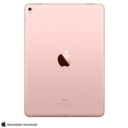 """iPad Pro Ouro Rosa com Tela de 9,7"""", Wi-Fi, 128 GB e Processador A9X - MM192BZ/A, Bivolt, Bivolt, Rosa, 0000009.70, 000128, 1, N, APPLE, 003412, A9X, iOS, 0000009.70, Sim, 12.0 MP, 128 GB, Wi-Fi, 12 meses, Não, Sim, A9X, Não, iOS, Até 10'', 9.7'', Retina, Não"""