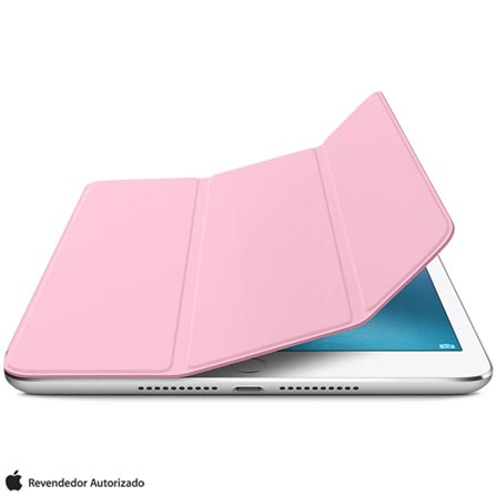 Capa Smart Cover para iPad Mini 4 em Poliuretano Rosa Claro - Apple - MM2T2BZ/A, Rosa