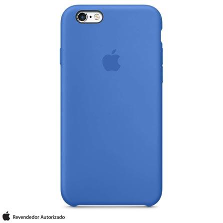 Capa para iPhone 6s em Silicone Azul Royal - Apple - MM632BZ/A, Azul, Capas e Protetores, 12 meses