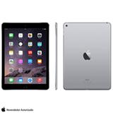 """iPad Air 2 Cinza Espacial com Tela de 9,7"""", Wi-Fi, 32 GB e Processador A8X - MNV22BR/A"""