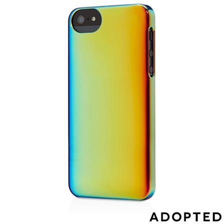 Capa para iPhone 5 Plástico Rígido Azul e Ouro - Adopted - APH11125, Azul e Dourado, Capas e Protetores, 12 meses