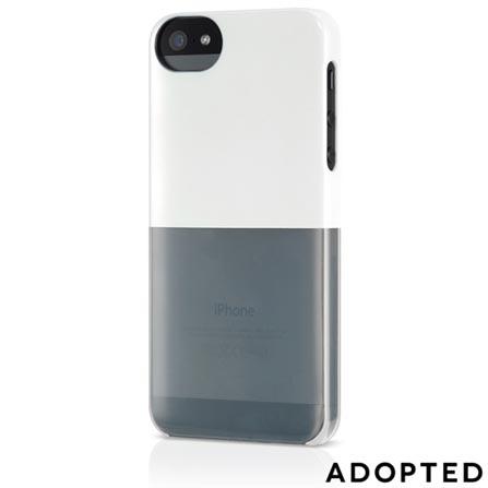 Capa para iPhone 5 Plástico Rígido Branco - Adopted - APH11127, Branco, Capas e Protetores, 12 meses