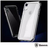 Capa para iPhone X e XS Safety Airbags em TPU Preto Transparente - Baseus - ARAPIPH58-SF01