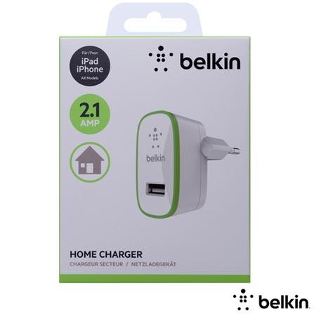 Carregador de Parede Branco - Belkin - F8J052CW, Branco, Carregadores, Dispositivos Digitais Portáteis, Smartphones, iPhone, iPad, iPod