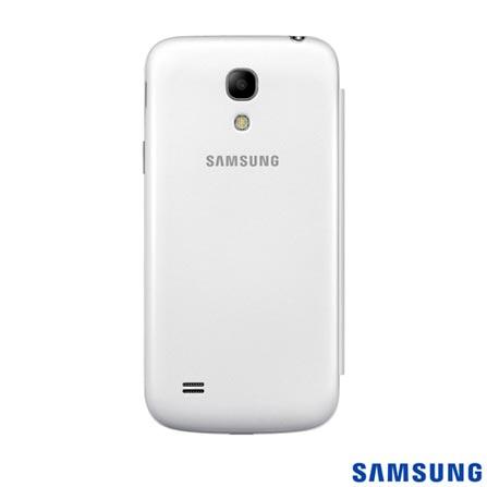 Capa Flip Cover para S4 Mini Branca - Samsung - EFFI919BWEGWWI, Branco, Capas e Protetores, 03 meses