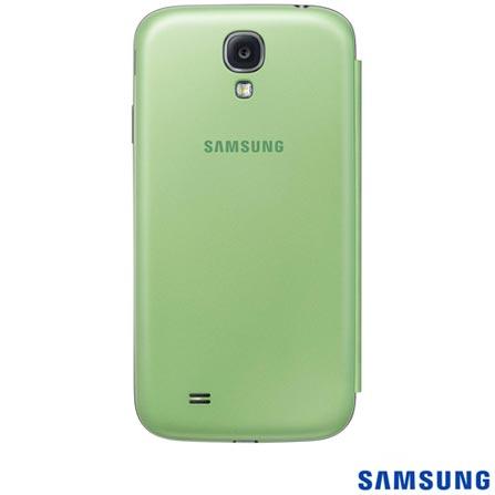 Capa Flip Cover Samsung para Galaxy S4, Verde - EFFI950