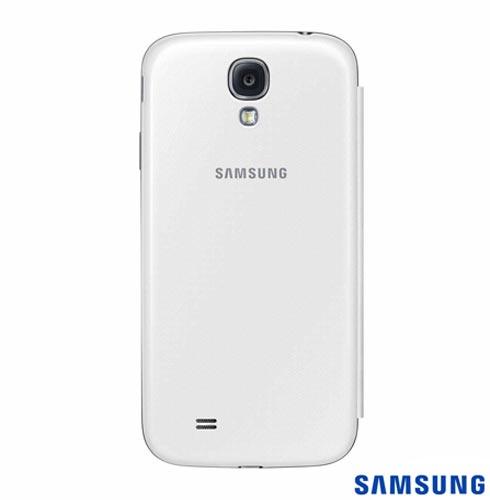 Capa Flip Cover para Galaxy S4, Branca - Samsung - EFFI950BWE, Branco, Capas e Protetores, Couro, 12 meses