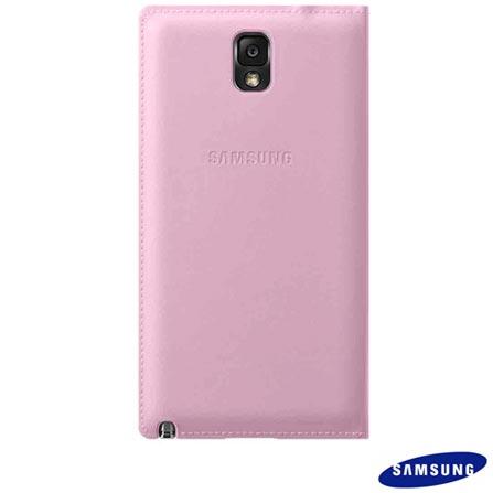 Capa protetora Flip Samsung Rosa para Galaxy Note 3, Rosa, 03 meses