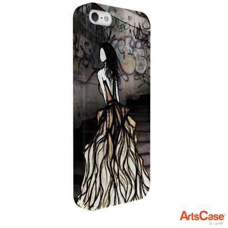 Capa Artscase para iPhone 5 e 5s SlimFit Amy Smith Escape Colorida, Colorido, 12 meses