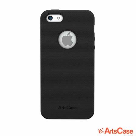 Case para iPhone 5 e 5s ArtsCase StrongFit Preta, 12 meses