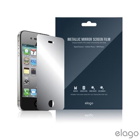 Película Protetora Espelhada Elago para IPhone 4/4S - ELMRIP4, Não se aplica