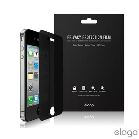 Película Protetora de Privacidade Elago para iPhone 4/4s - ELPRIP4, Não se aplica