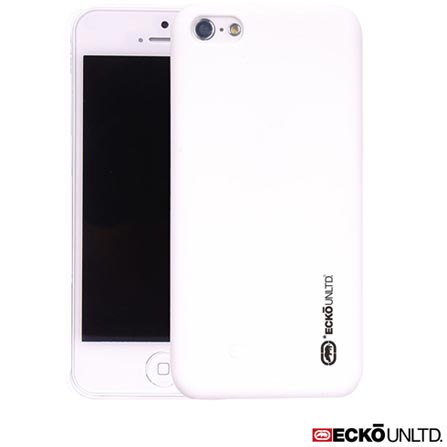 Capa para iPhone 5c Branca Ecko ECK02, Branco, 06 meses