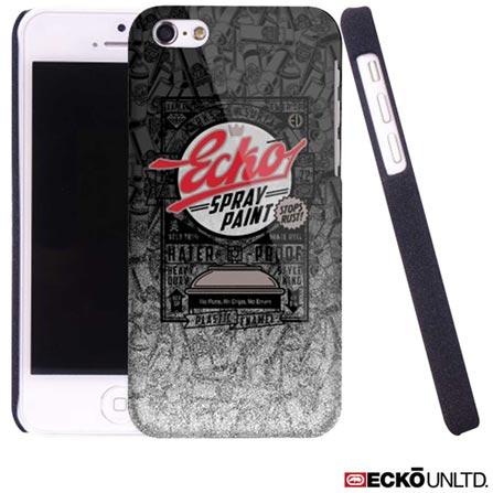 Capa para iPhone 5c Spray Cinza Ecko ECK04, Cinza, 06 meses