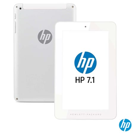 Tablet HP 7.1, Tela 7