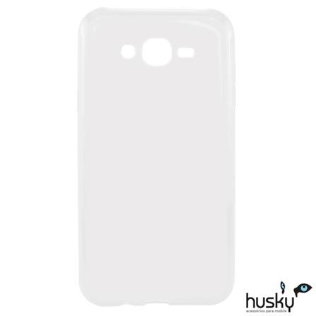 Capa para Galaxy J3 de Plástico - Husky - HSJ3CAPA, Não se aplica, Capas e Protetores, Plástico, 06 meses