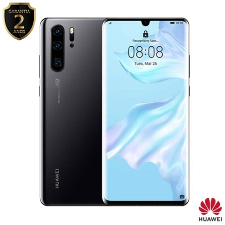 Celular Smartphone Huawei P30 Pro 256gb Preto - Dual Chip
