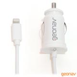 Carregador Veicular para iPhone iPad iPod Lightning conector Geonav - CHLIGHVW