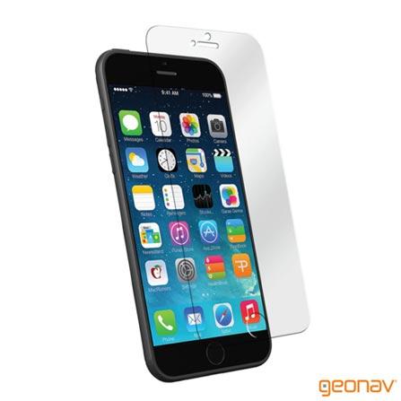 Película para iPhone 6 em Vidro Temperado Transparente – Geonav - GEOGLIP6, Não se aplica
