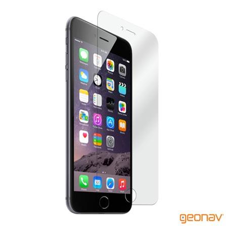 Película para iPhone 6 Plus em Vidro Temperado Transparente – Geonav - GEOGLIP6P, Não se aplica