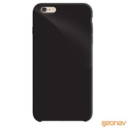 Capa para iPhone 6 Preta Geonav - IPH6BLA, Capas e Protetores, 12 meses