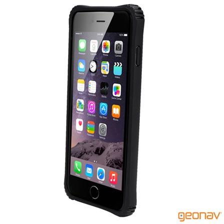 Capa para iPhone 6 Bumper Policarbonato Preta Geonav - IPH6BUB, Capas e Protetores, 12 meses