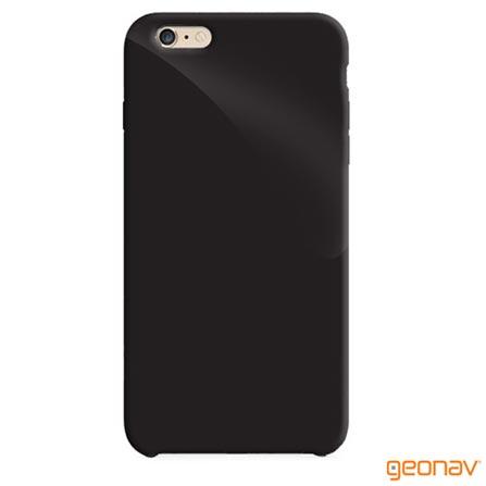 Capa para iPhone 6 Plus Preta Geonav - IPH6PBLA, Capas e Protetores, 12 meses