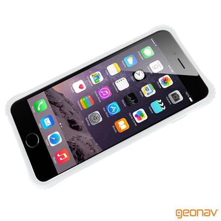 Capa para iPhone 6 Plus Bumper Branca Geonav - IPH6PBUW, Branco, Capas e Protetores, 12 meses
