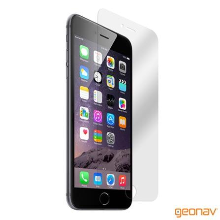 Película Protetora para iPhone 6 Plus Transparente - Geonav - IPH6PPC, Não se aplica