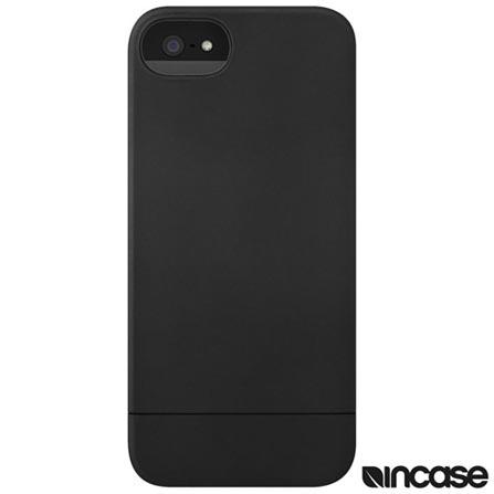 Capa para iPhone SE em Policarbonato Preto - Incase - CL69035, Preto, Capas e Protetores, Policarbonato, 06 meses