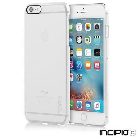Capa Feathter para iPhone 6/6s Plus em Policarbonato Transparente - Incipio - IPH-1193-CLR, Não se aplica, Capas e Protetores, Policarbonato, 06 meses