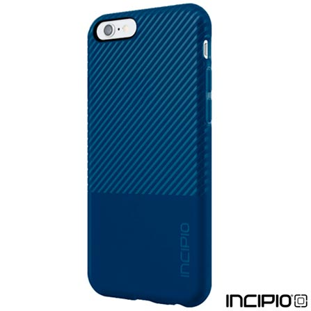 Capa para iPhone 6 e 6s Incipio Twill Block - Azul - IPH-1352-NVY, Azul, Capas e Protetores, 06 meses