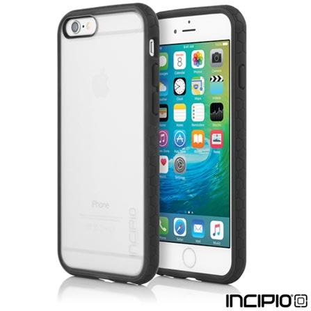 Capa para iPhone 6 e 6s de Policarbonato Transparente e Preto - Incipio - IPH1190FRSTBLK, Capas e Protetores, 06 meses