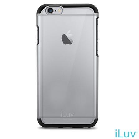 """Capa para iPhone 6 de 4.7"""" Híbrida Vyneer Preta - iLuv - AI6VYNEBK, Capas e Protetores, 06 meses"""