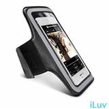 Braçadeira para iPhone 5 e iPod Touch Preta - iLuv - ICA7A323BLK