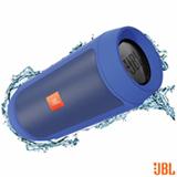 Caixa de Som Bluetooth JBL com Conexão P2 Azul - Charge + 2