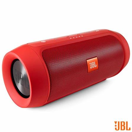 Caixa de Som Bluetooth JBL com Conexão P2 Vermelha - Charge + 2, Bivolt, Bivolt, Vermelho, Caixas Portáteis, Sim, Não especificado, Sim, Não, iOS e Android, Sim, 12 meses