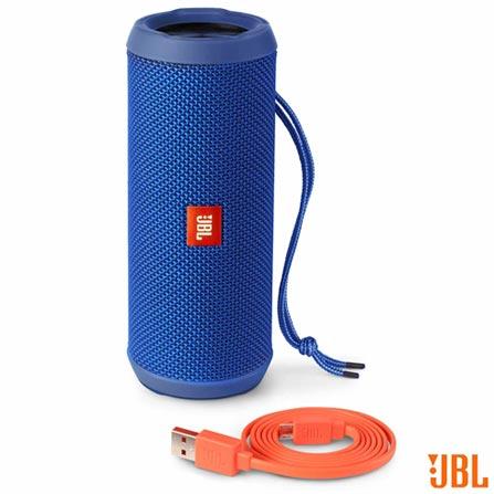 Caixa de Som JBL para Aparelhos com Conexão Bluetooth e P2 - FLIP3, Bivolt, Bivolt, Azul, Caixas Portáteis, Sim, Não especificado, Sim, Não, Não se aplica, Não, 12 meses