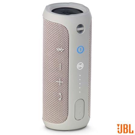 Caixa de Som JBL para Aparelhos com Conexão Bluetooth e P2 - FLIP3, Bivolt, Bivolt, Cinza, Caixas Portáteis, Sim, Não especificado, Sim, Não, Não se aplica, Não, 12 meses