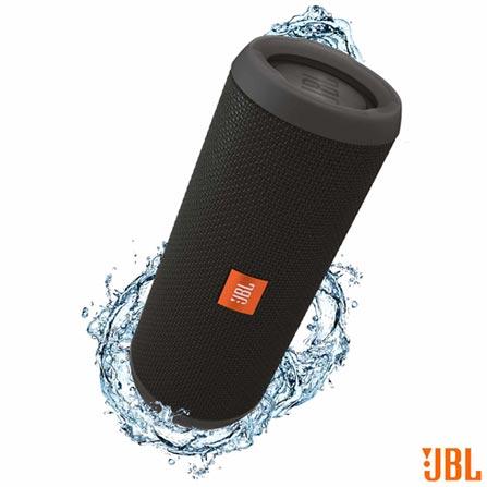 Caixa de Som JBL para Aparelhos com Conexão Bluetooth e P2 - FLIP3, Bivolt, Bivolt, Preto, Caixas Portáteis, Sim, Não especificado, Sim, Não, Não se aplica, Não, 12 meses