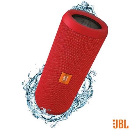 Caixa de Som JBL para Aparelhos com Conexão Bluetooth e P2 - FLIP3, Bivolt, Bivolt, Vermelho, Caixas Portáteis, Sim, Não especificado, Sim, Não, Não se aplica, Não, 12 meses