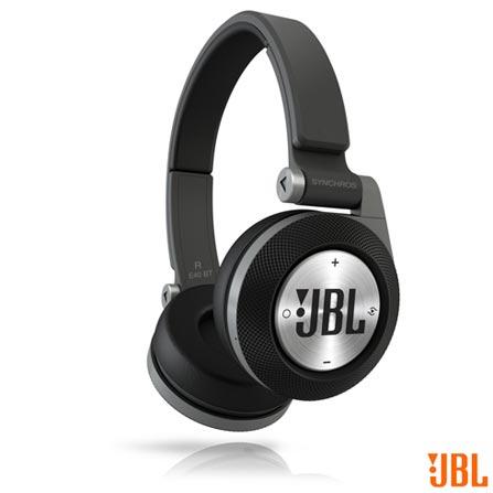 Fone de Ouvido com Bluetooth JBL Headphone Preto - E40 BT, Preto, Headphone, 12 meses